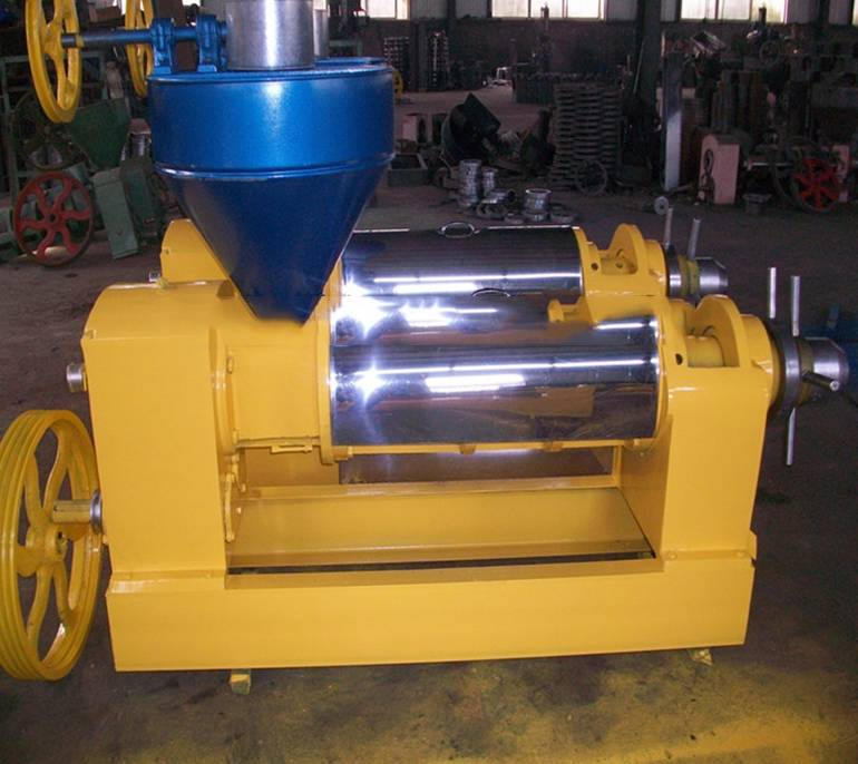 high oil yield soybean screw oil press machine