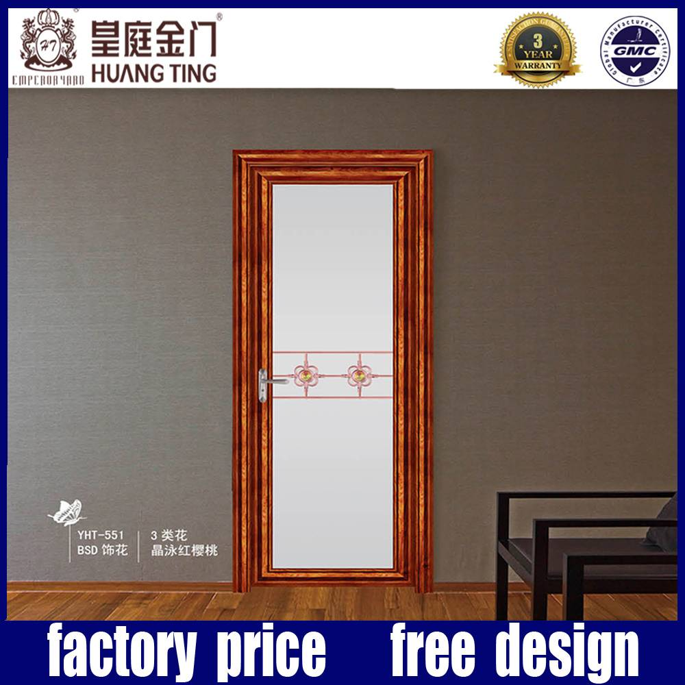 Aluminum double Glass Swing Door and Window