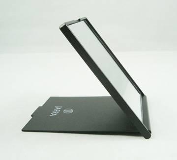 Foldable plastic rectangule handbag mirror