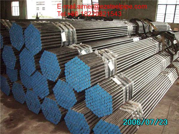 Large dimensions Carbon steel pipes A53