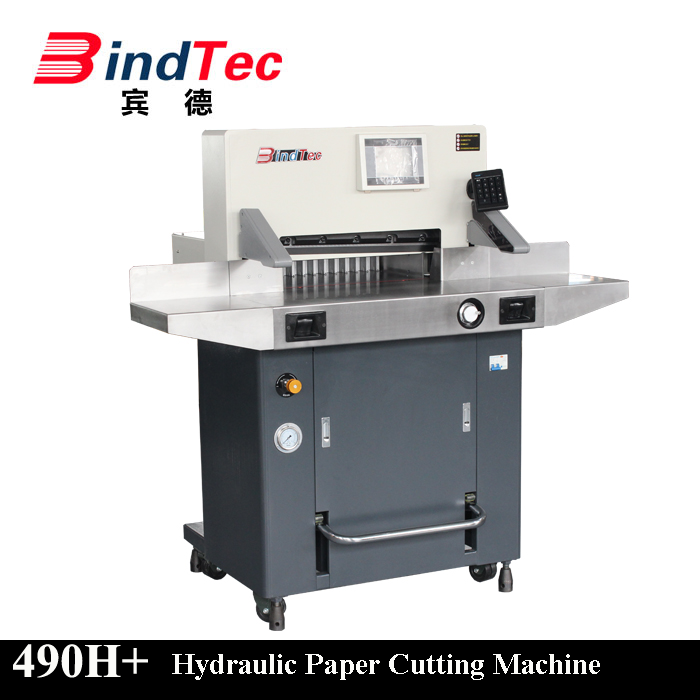BD-490H+ 2017 New Design Hydraulic Paper Cutting Machine Automatic Guillotine Paper Cutter