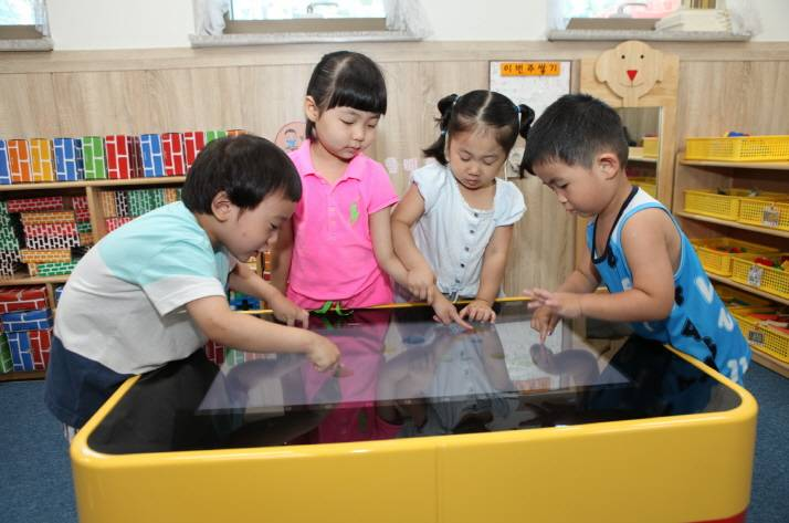 32inch Tabletop Touch Screen for Kids