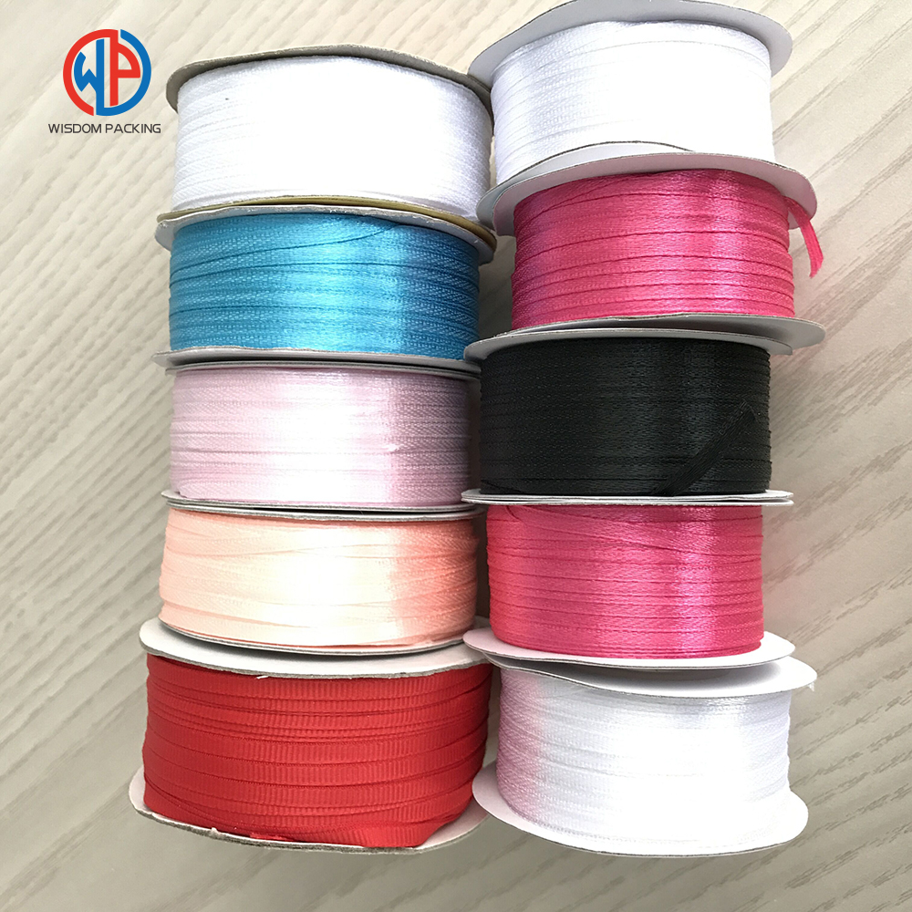 wholesale 1/8 inch double face/single face satin ribbon