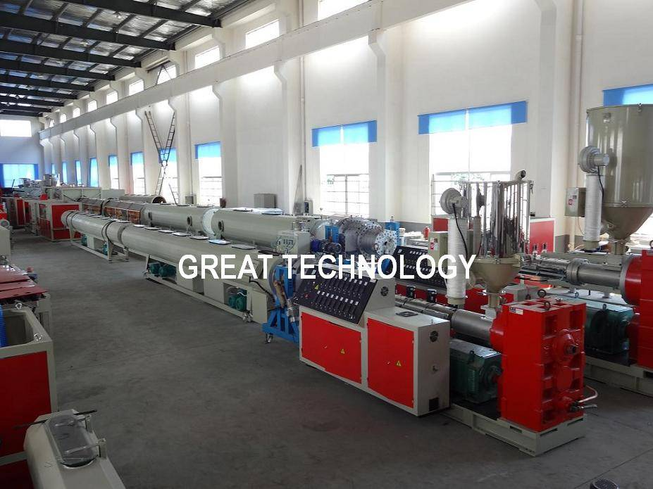 16mm-630mm Water/Energy/Sewer LDPE HDPE Pipe Extruder/Making Machines