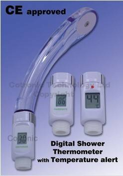 CE approved faucet thermometer