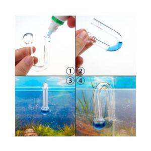 Hang-on Aquarium CO2 Drop Checker