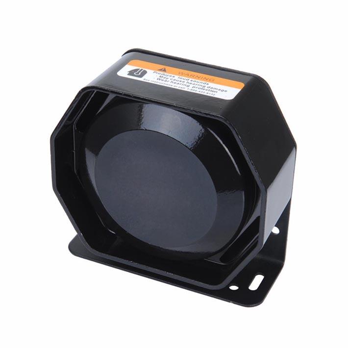 100W Octangular Speaker SP002 12V DC 8 Ohms to Work with Police Sirens