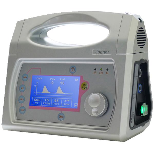 Portable medical ventilator equipment for ambulance Jogger