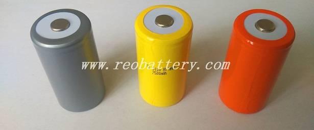 D size 1.2V n7000- 10000mAh  nicklwe storage battery