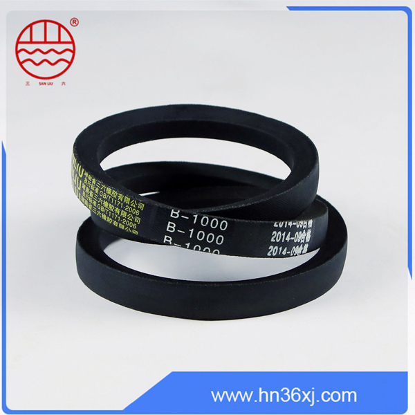 Different types high cost-effective rubber V-belt