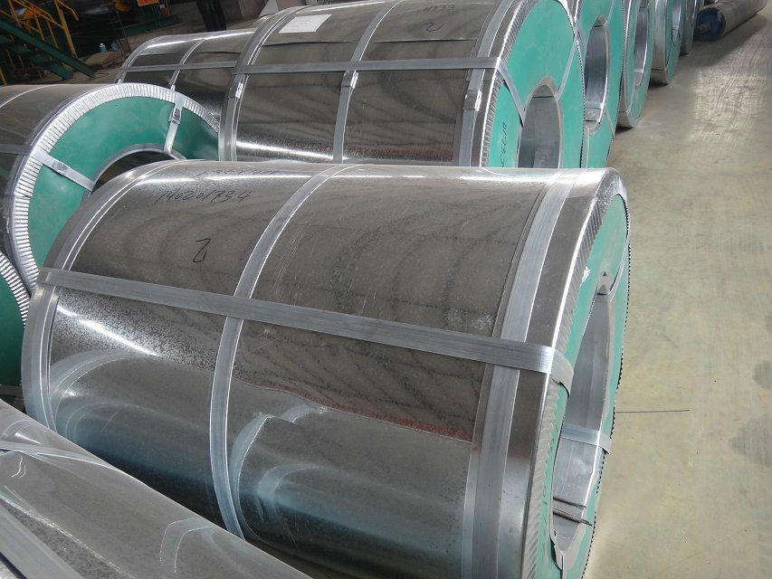 Z270 hot dipped galvanized steel coil