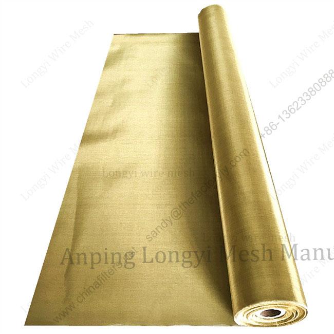 10 20 30 50 100 mesh brass woven wire mesh brass mesh screen