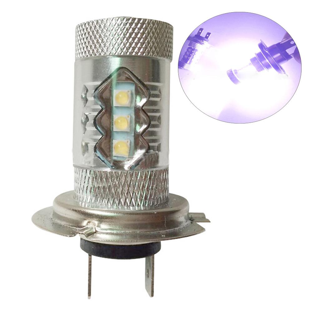 2PCS H4 12V 80W LED 6000K Fog Driving Head Light Bulb Lamps White H7