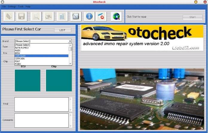 OTOCHECKER 2.0 IMMO CLEANER