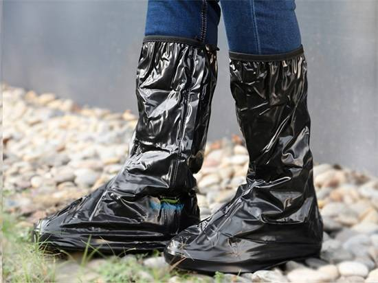 Unisex Best Waterproof Cycling Riding Motorcycle Rain Boot Covers India