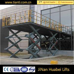 Factory supply mobile scissor car lift platform for disabled people