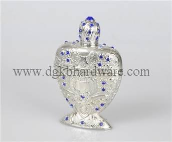 12ml elegant arabian metal perfume bottle