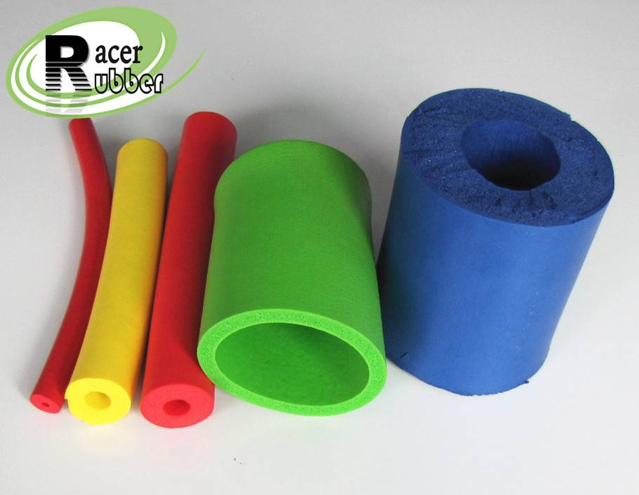 Industrial extruded silicon sleeve rubber tube