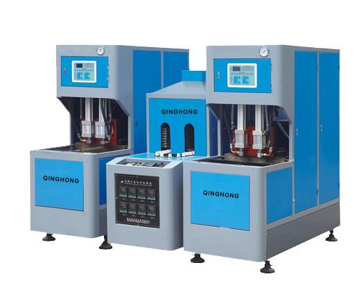 Semi-automatic bottle making machine/bottle blow molding machine