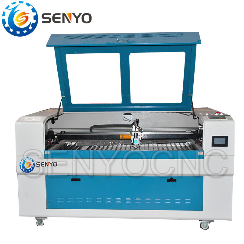 Hybrid laser cutting machine 1300900mm 13002500mm area CO2 Metal and nonmetal cutting