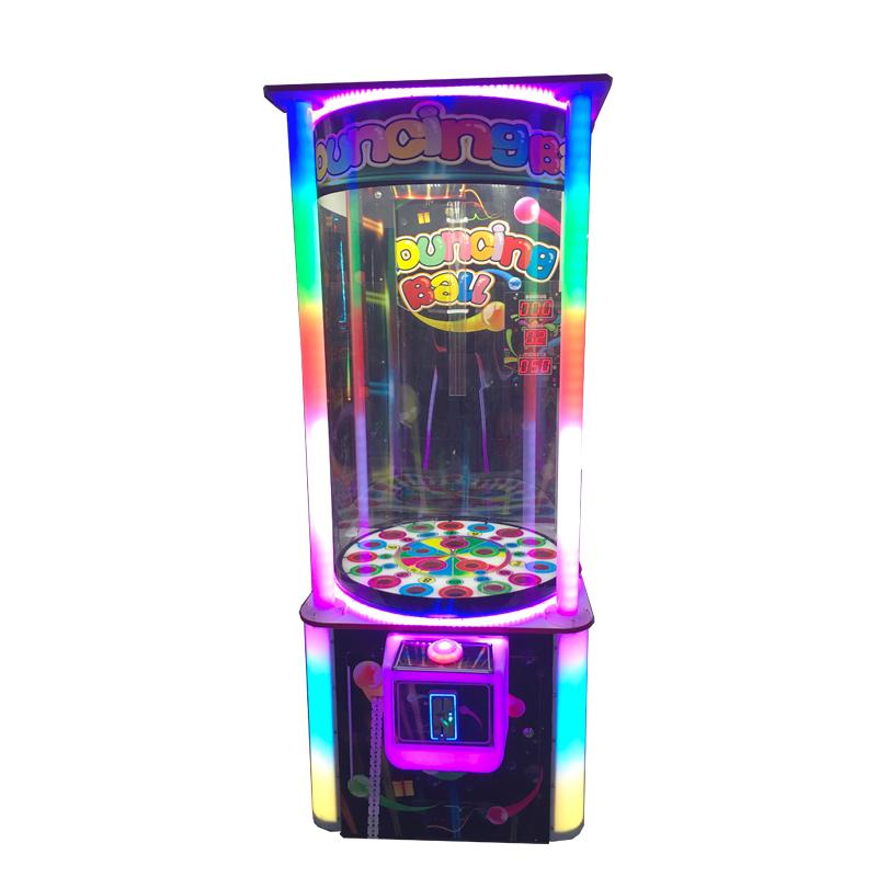 Bouncing Ball Redemption Amusement Machine Lottery Ticket Ball Drop Game