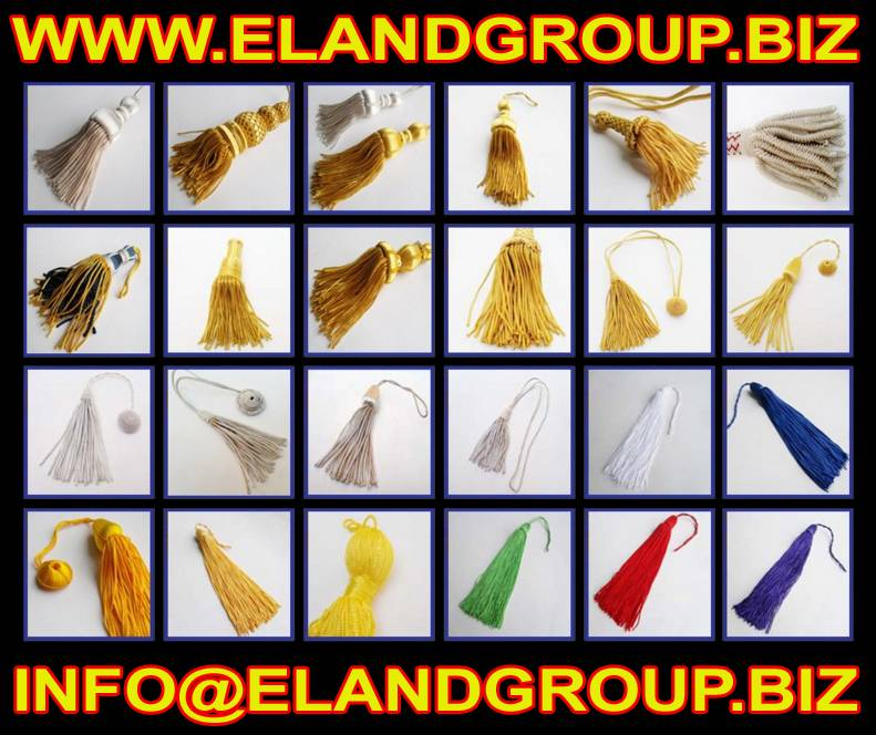Doctoral Bullion tam Tassel Doctoral Silk Tassel Bullion Tassels Supplier