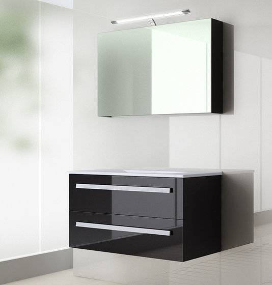 hot Gloss Lacquer Modern Style Furniture Bathroom Cabinet-D3109w