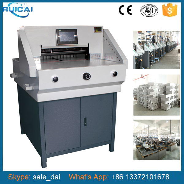720mm Reliable Cutting Paper Machine Supplier from China