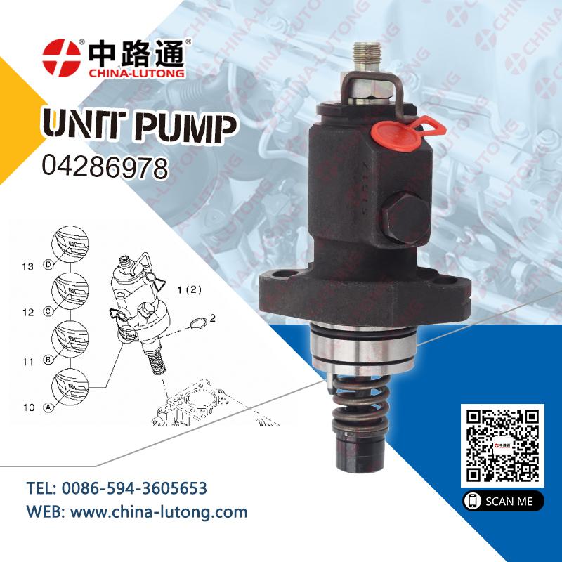 Diesel Engine Unit Pump 04286978 unit pump fuel injection