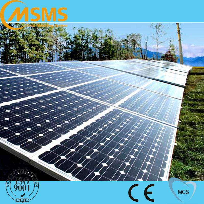 Factory price pv galvanized solar ground mounting in china