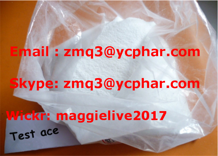 Testosterone Acetate CAS 1045-69-8 Steroid Powder for Muscle Building