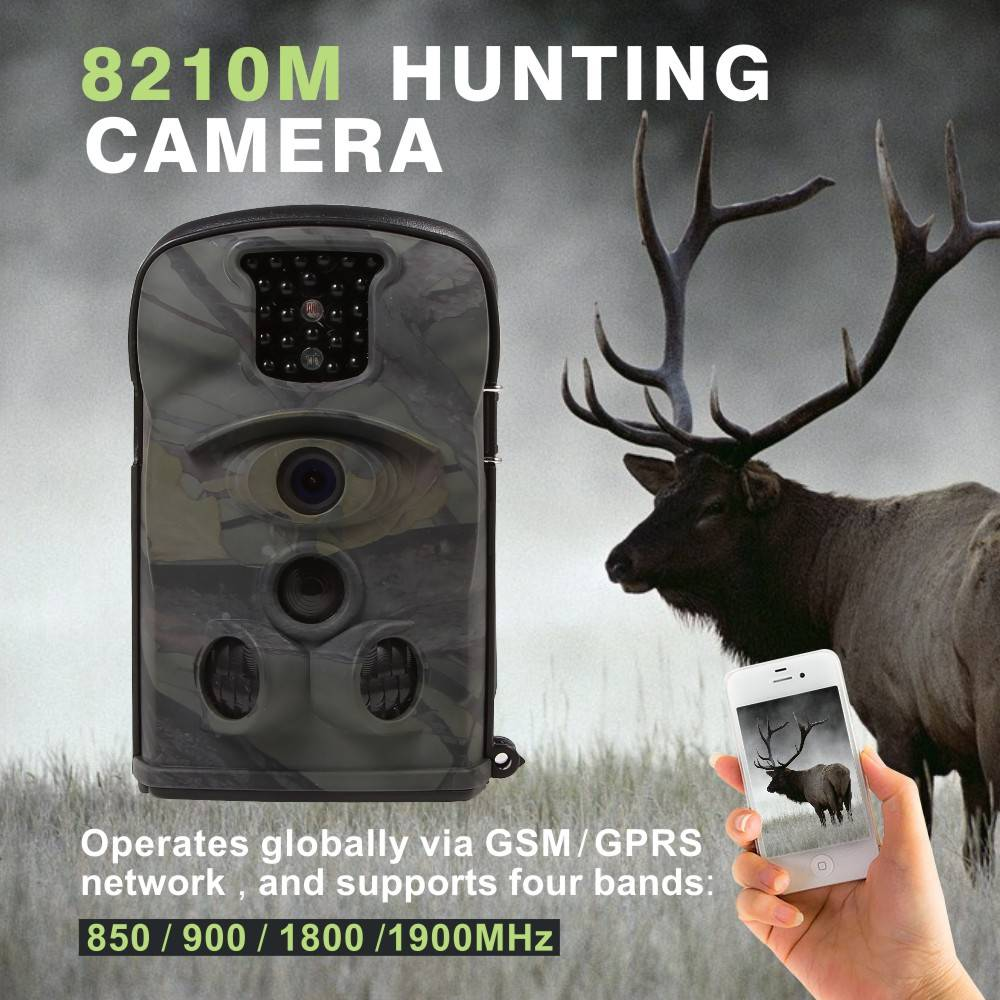 12Mp Photo Pixel Hunting Trail Camera Wide Lens Trail Camera