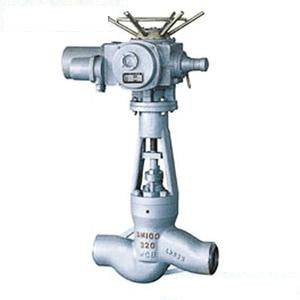 the power station electric welding globe valve