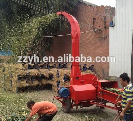 Best selling corn stalk rice straw cotton stalk forage grass chaff cutter for animal feeding