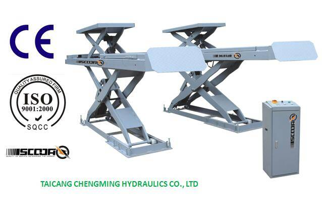 China Hydraulic Wheel Alignment Scissor Lift with Ce ISO