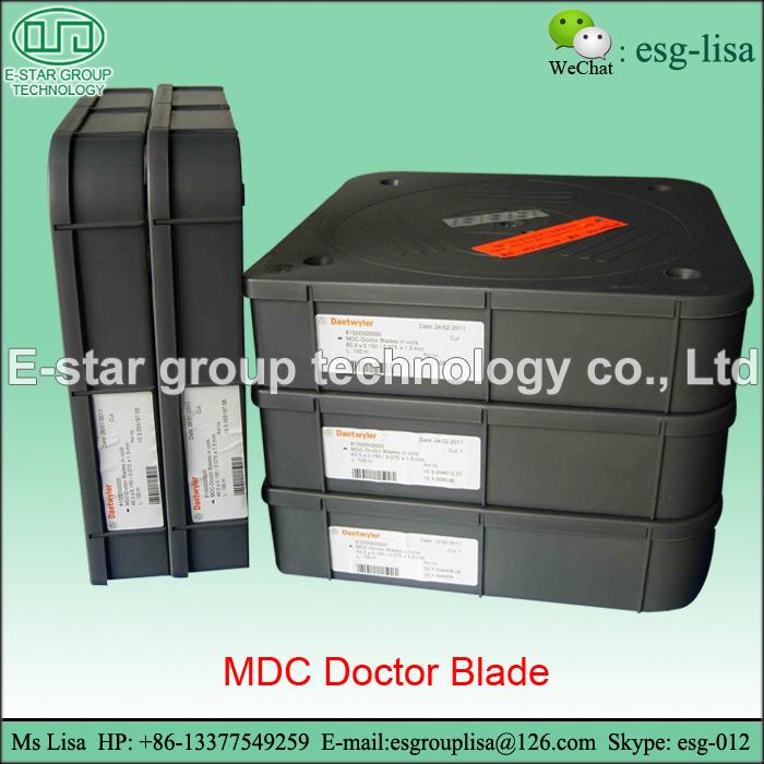 MDC Doctor Blade Switzerland Doctor Blade in Gravure Printing