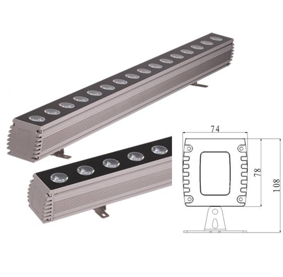 120W led wall washer low price