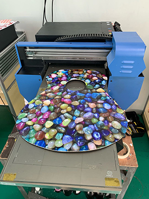 UV Flatbed Printer for Guitar Board Images Printing