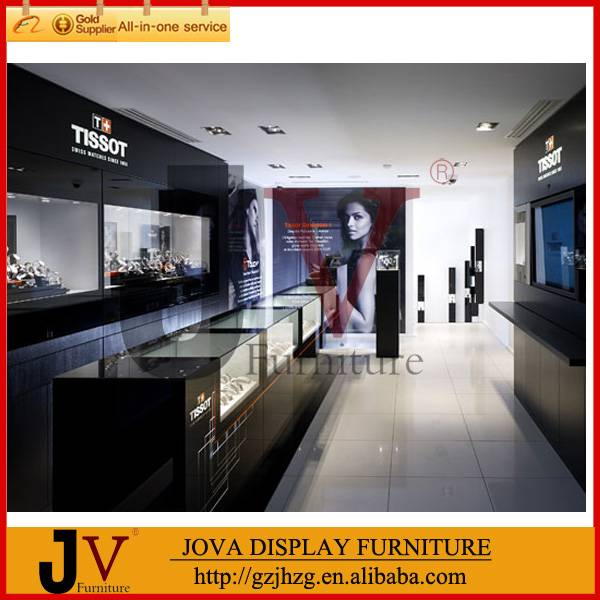 Modern Tissot watch furniture shop counter design