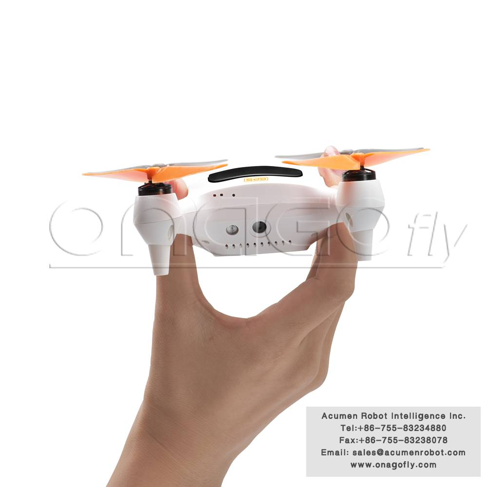 Real time smart Plam Drone quadcopter