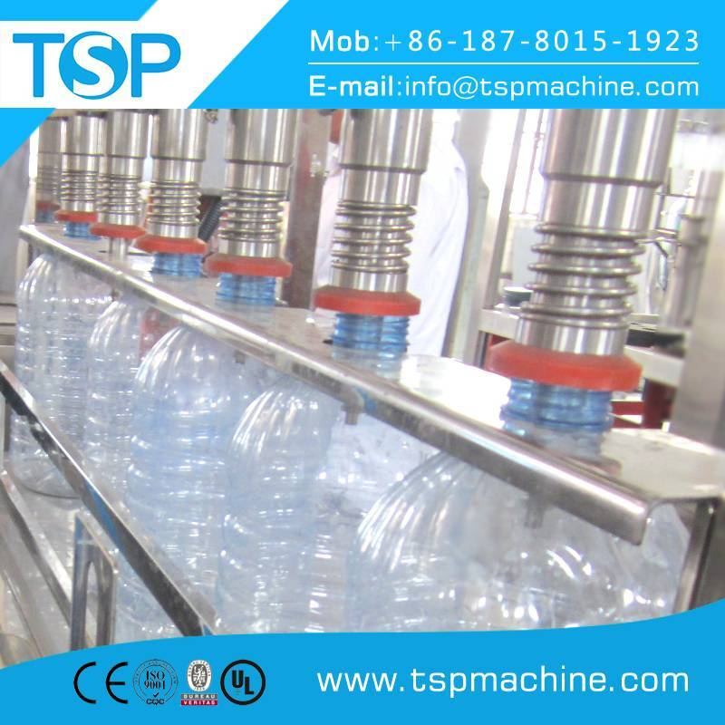 Cheapest automatic linear 3,5,10L water bottle filling machine price 400BPH
