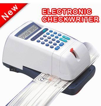 Electronic Checkwriter