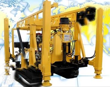 Multipurpose High Efficiency Crawler Mounted Drilling Rig XYD-3 for Mining Exploration