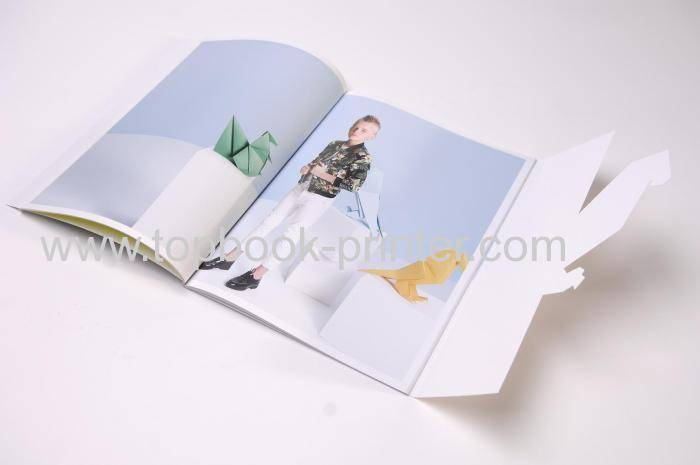 Print special-shape die-cut UV varnishing children's comic softcover or softback books