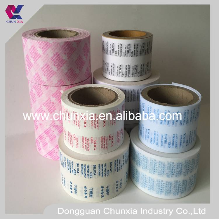 Desiccant packing non woven fabric