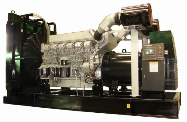 Diesel generator of mitsubishi power genset S6R-PTA