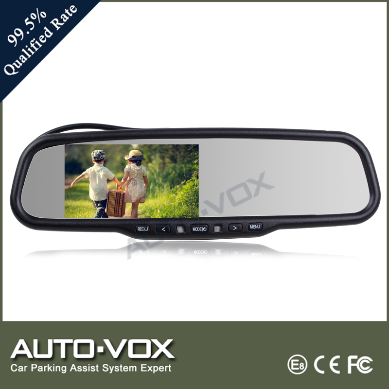 OEM 1080p dvr car rear view mirror monitor