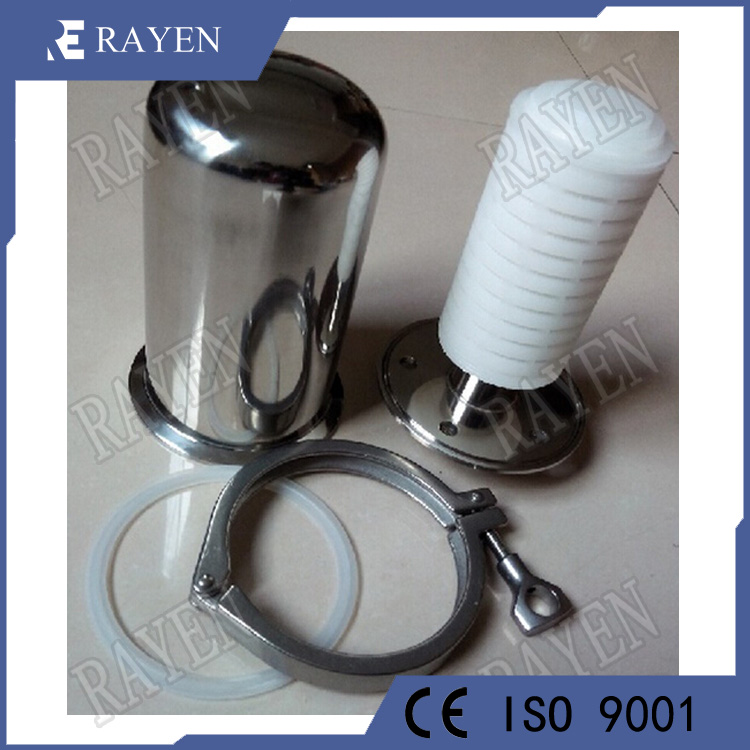 Stainless steel tank air vent filter