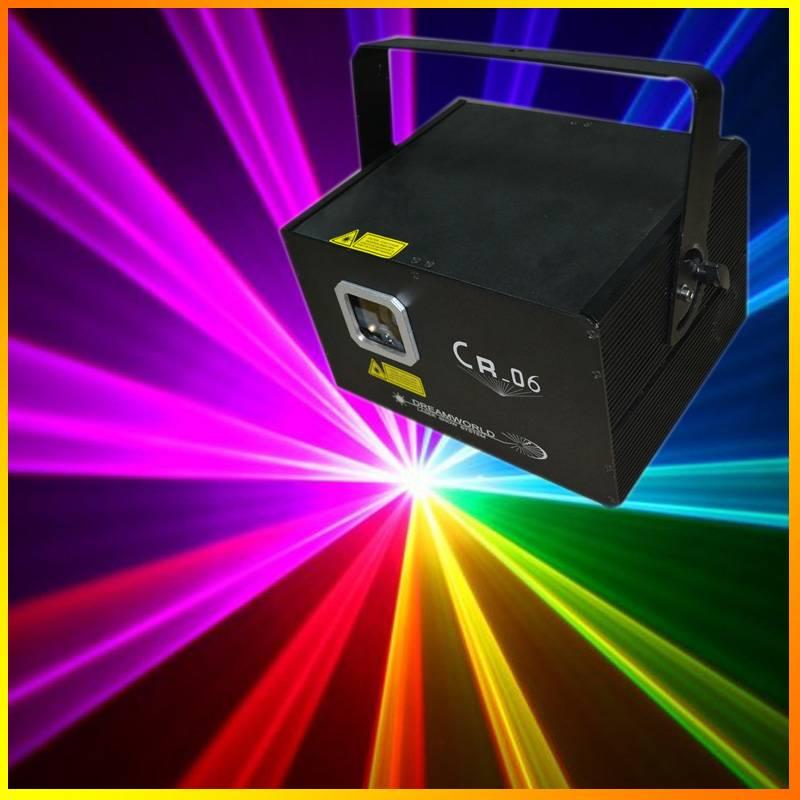 CR-06 RGB laser light pro stage lighting projector