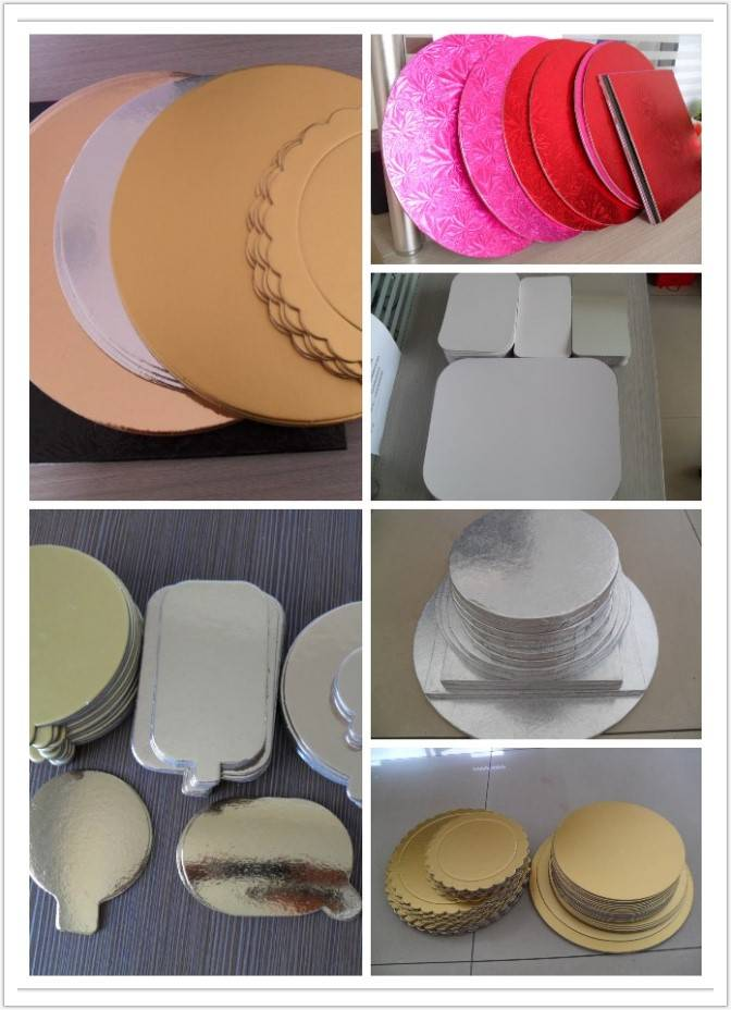 cakeboards  customized good quality food grade grease resistance